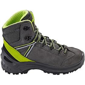 Lowa Ledro GTX Mid Shoes Kinder anthracite/lime
